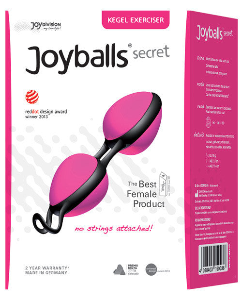 Joydivision Joyball Secret - Pink-black