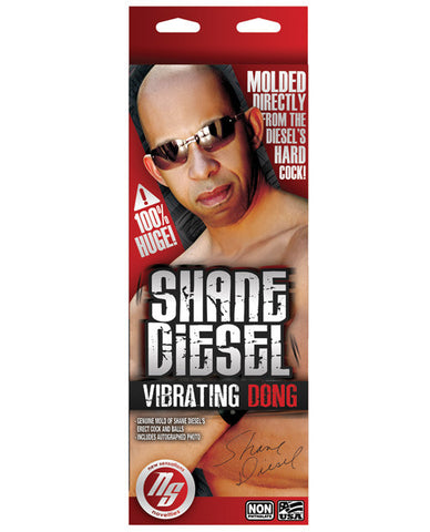 New Sensations Novelties Shane Diesel's Vibrating Cock