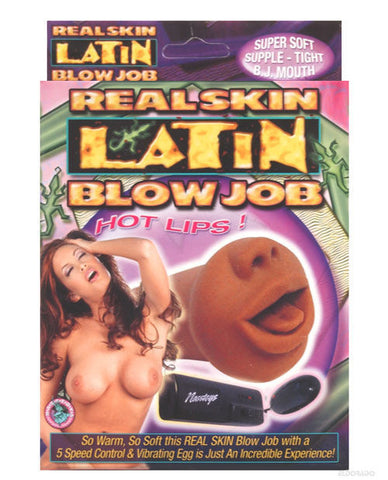 Real Skin Latin Blowjob