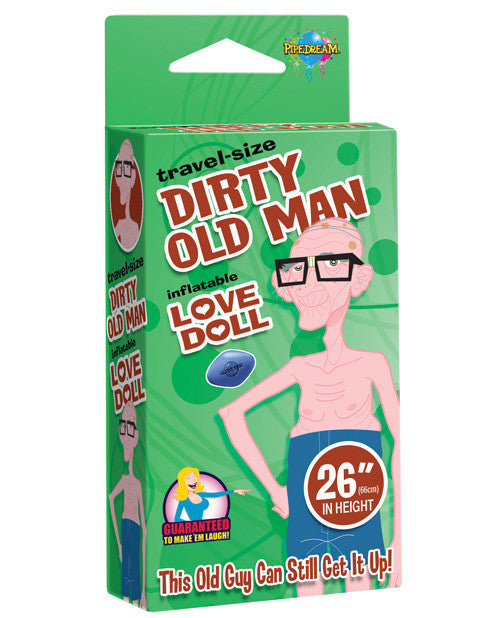 "26"" Travel-size Dirty Old Man Love Doll"