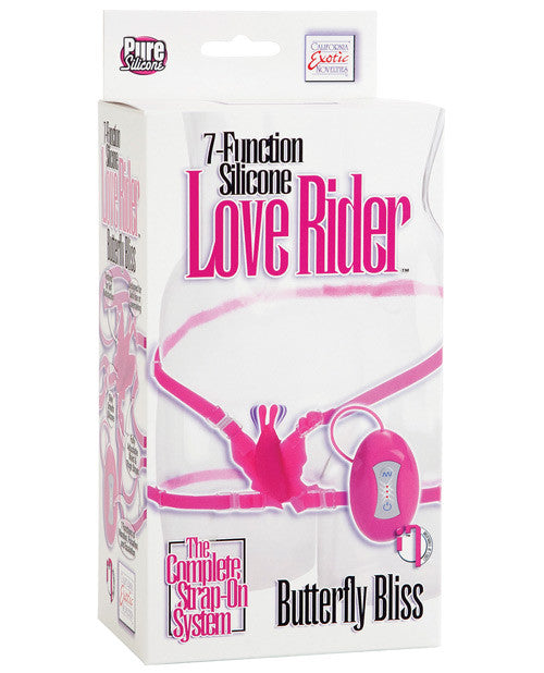 Love Rider Silicone Butterfly Bliss - 7 Function Pink