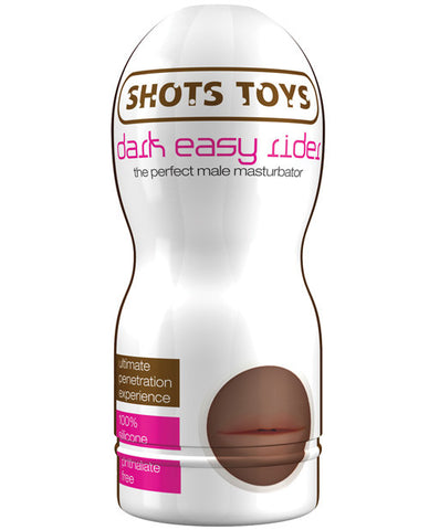 Shots Toys Dark Easy Rider - Mouth