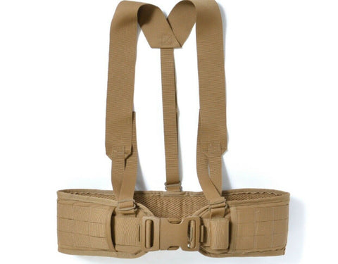 USMC Sub Belt, w/ Suspenders, Coyote