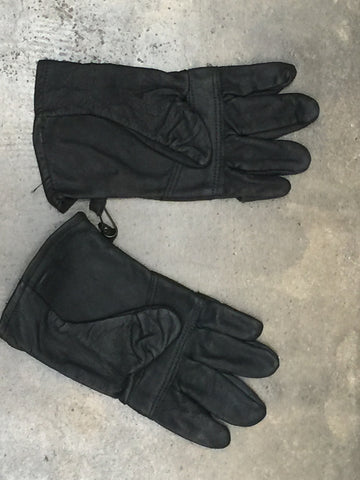 USMC Black Utility Gloves - G.I. JOES