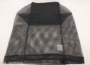 USMC Black Mesh Bag (New) - G.I. JOES