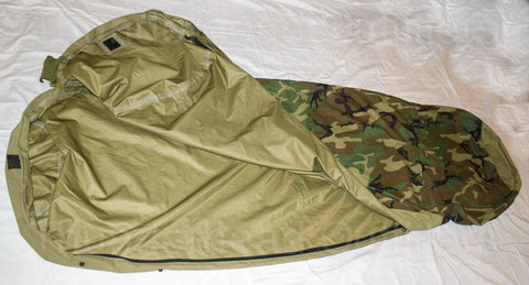 Woodland Bivy Cover (Used) - G.I. JOES