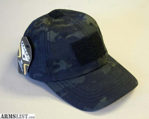 Tactical Cap MultiCam Black - G.I. JOES