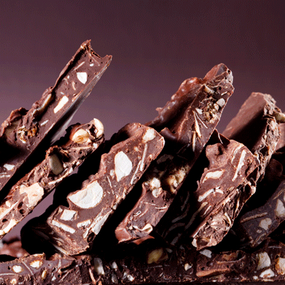 Hazelnut Coconut Bark