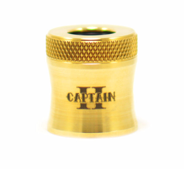 Captain Cap II Wide Bore (various finishes)
