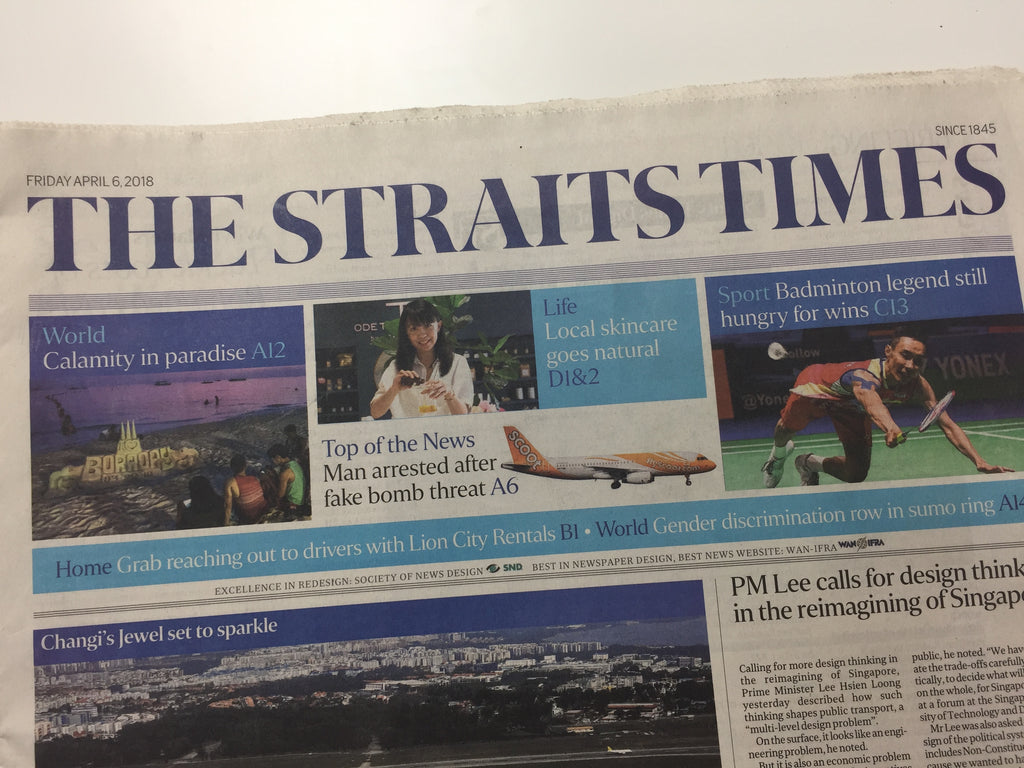 The Straits Times frankskincare