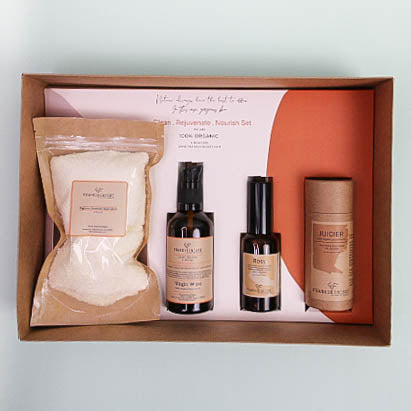 Clean . Rejuvenate . Nourish Set