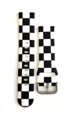 Black and White Checkered (Fitbit)