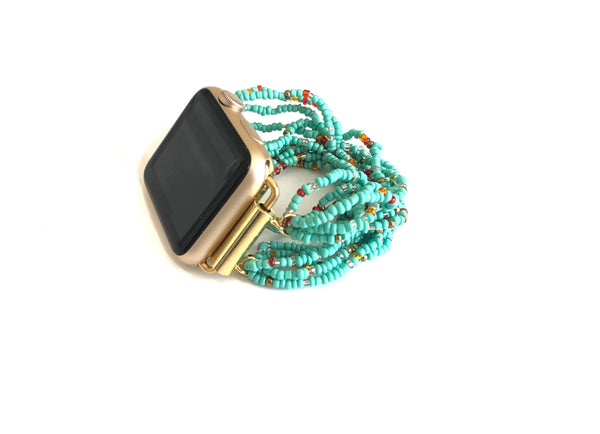 The Turquoise Oasis Apple Watch Band