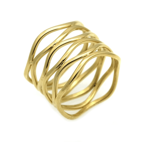 All Tied Up Gold Ring