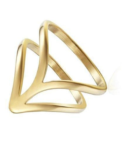 Arrow Gold Ring