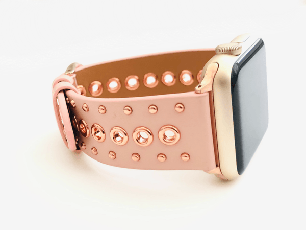 The Rivets and Studs in Pink