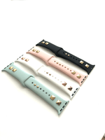 Silicone Studded Apple Watch Band