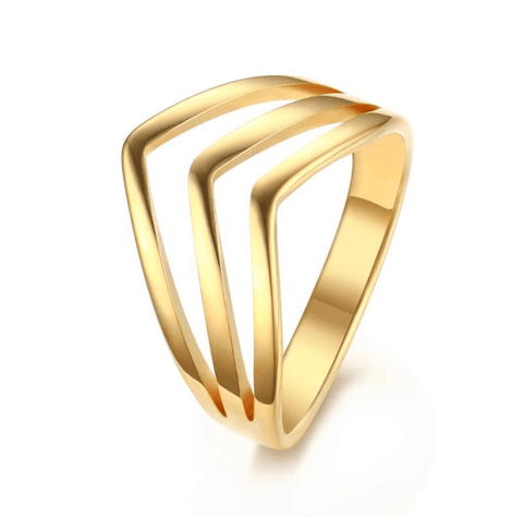 The Aurora Gold Ring
