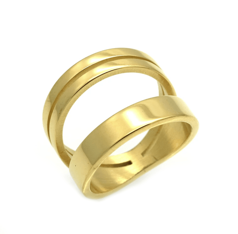 The Evermore Gold Ring