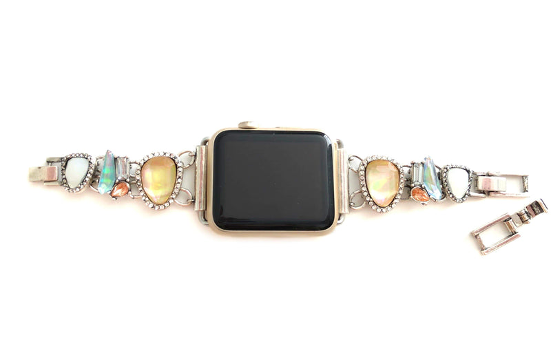 The Fire Opal Apple Watch Band