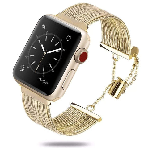 The Goddess Gold Stainless Steel Watch Band