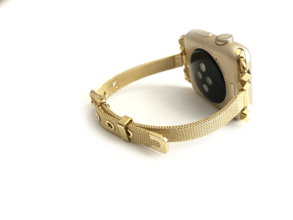 The She.E.O Gold Apple Watch Band