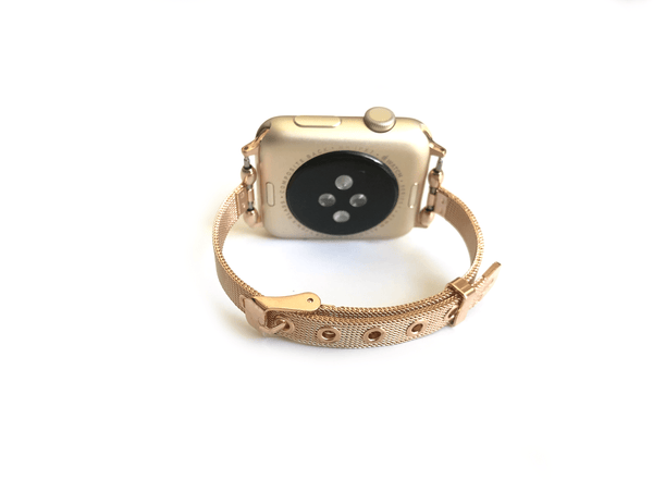 The She.E.O Rose Gold Apple Watch Band