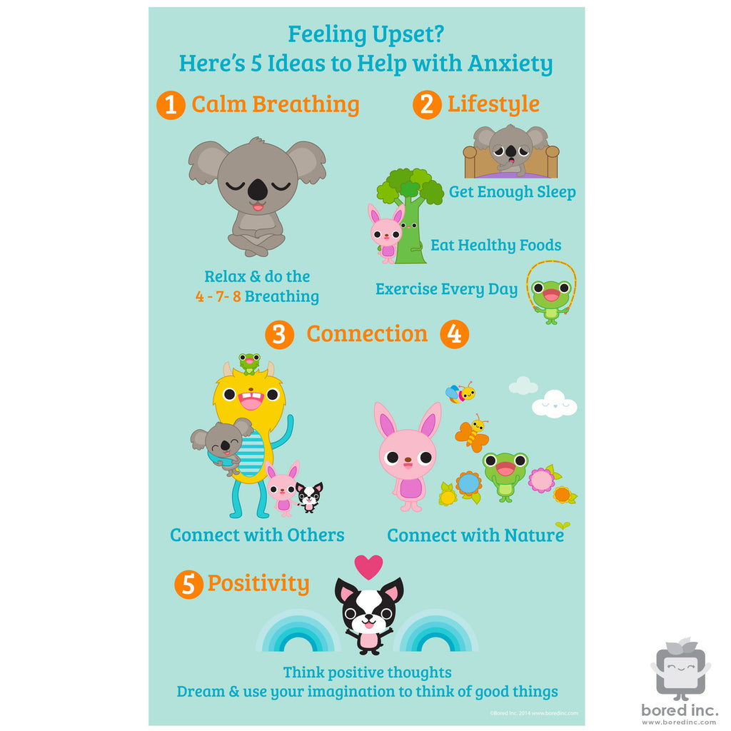 Digital Download: Anti-Anxiety Health & Well Being Poster