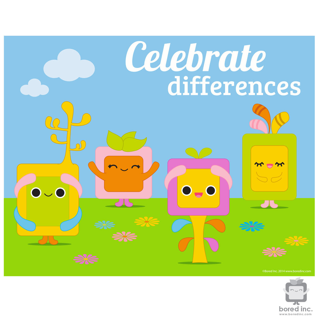 Digital Download: Celebrating Differences Poster 2