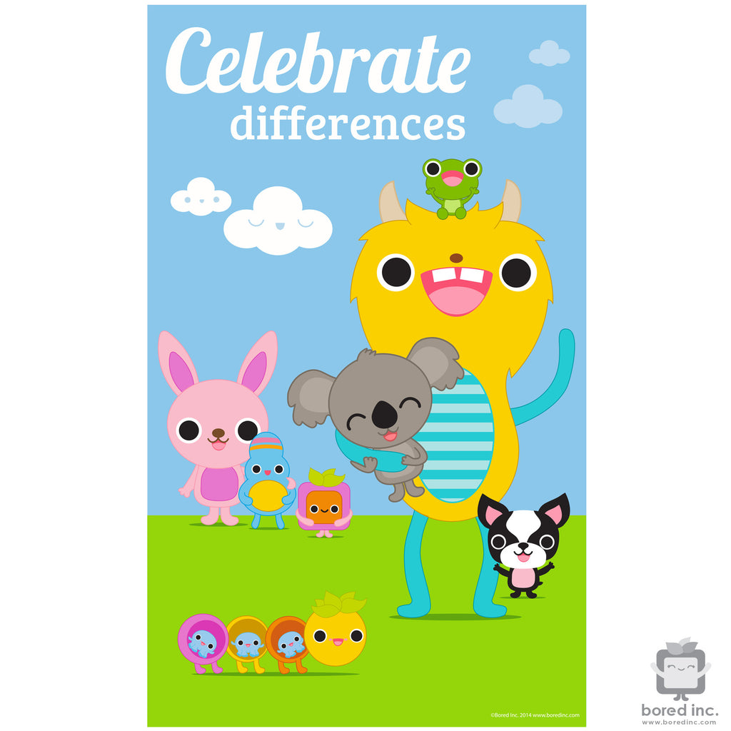 Digital Download: Celebrate Differences Poster