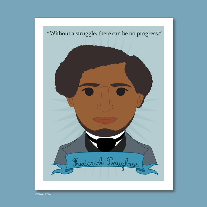 Heroes Collection: Frederick Douglass 8x10 Art Print