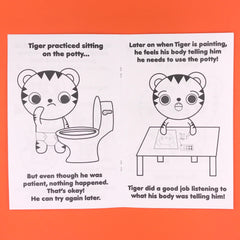 Tiger Learns to Use the Potty!