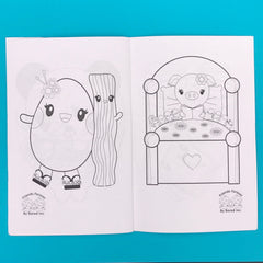 Friends Forever Kawaii Coloring Book