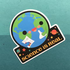 Science is Real Sticker