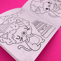 Afro Cat Coloring Book