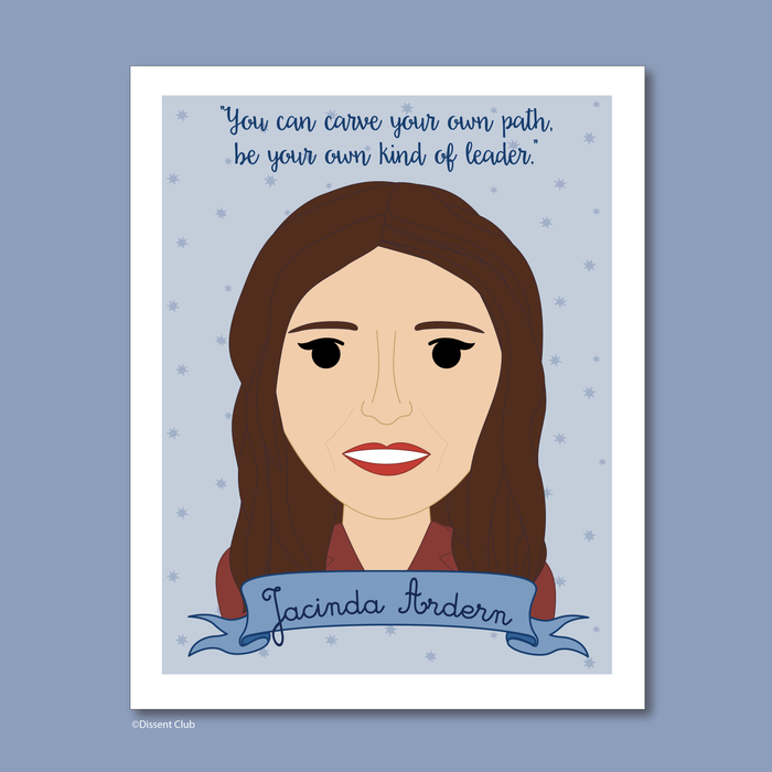 Sheroes Collection: Jacinda Ardern 8x10 Print
