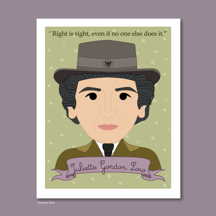 Sheroes Collection: Juliette Gordon Low 8x10 Art Print