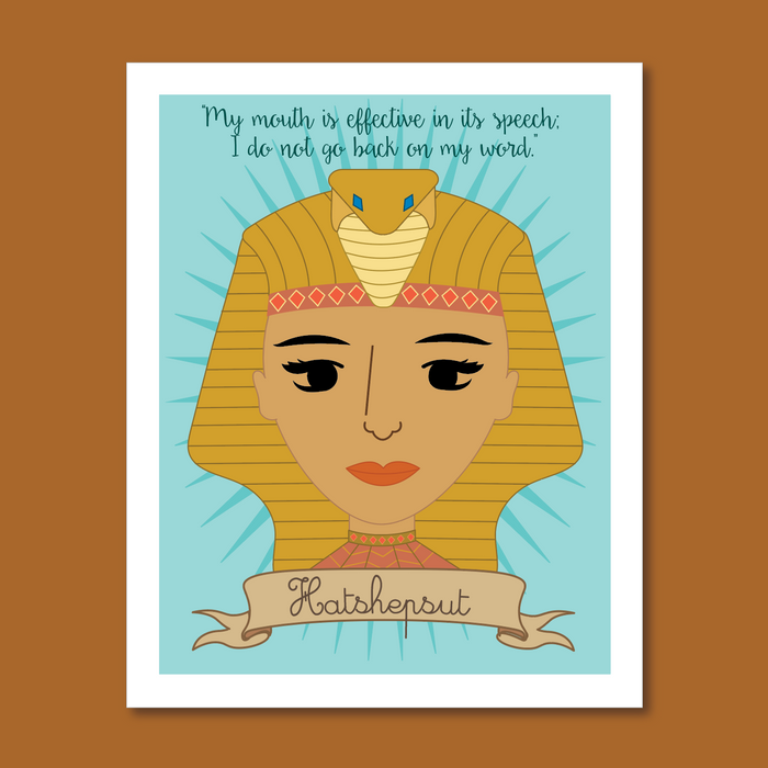 Sheroes Collection: Hatshepsut 8x10 Art Print