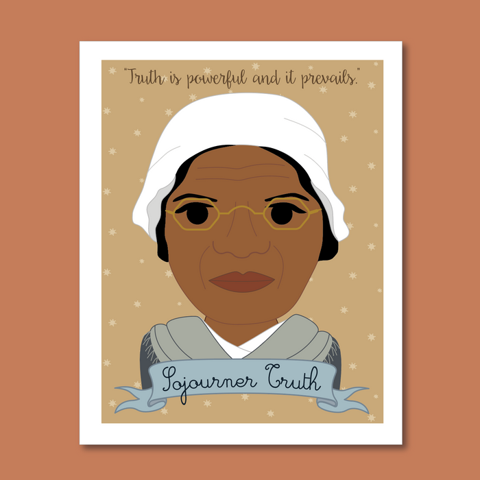 Sheroes Collection: Sojourner Truth 8x10 Art Print