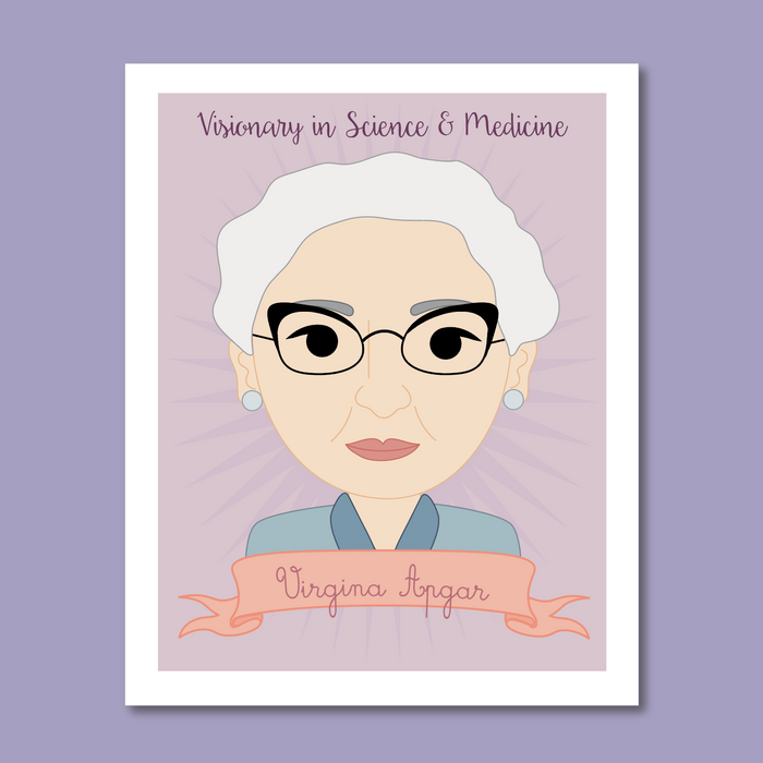 Sheroes Collection: Virginia Apgar 8x10 Art Print