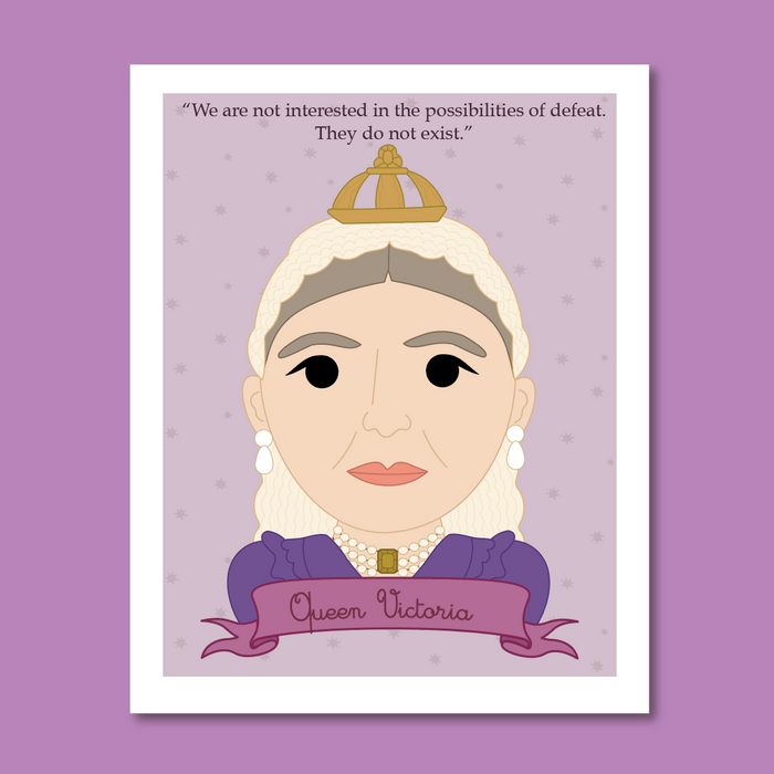 Sheroes Collection: Queen Victoria 8x10 Art Print