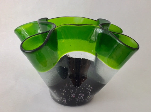 JK - Green Ring Bowl