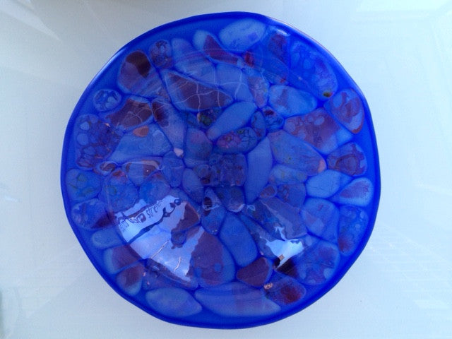 JK - Blue Pebbles bowl