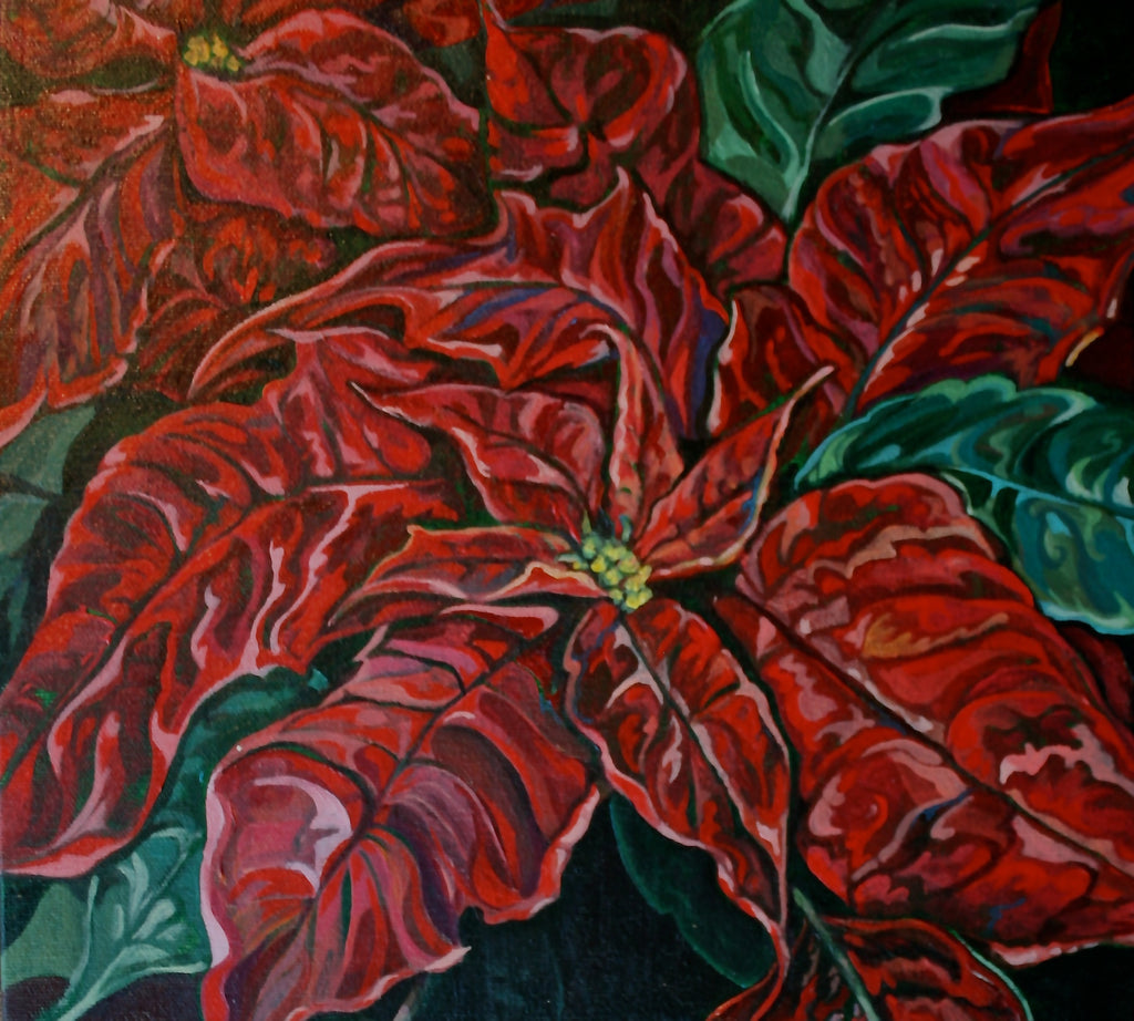 EA - RED POINSETTIA
