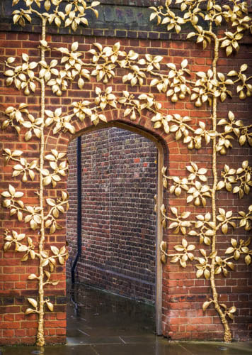 Mary Pratte - A 'Pear' of Golden Trees, Hampton Court