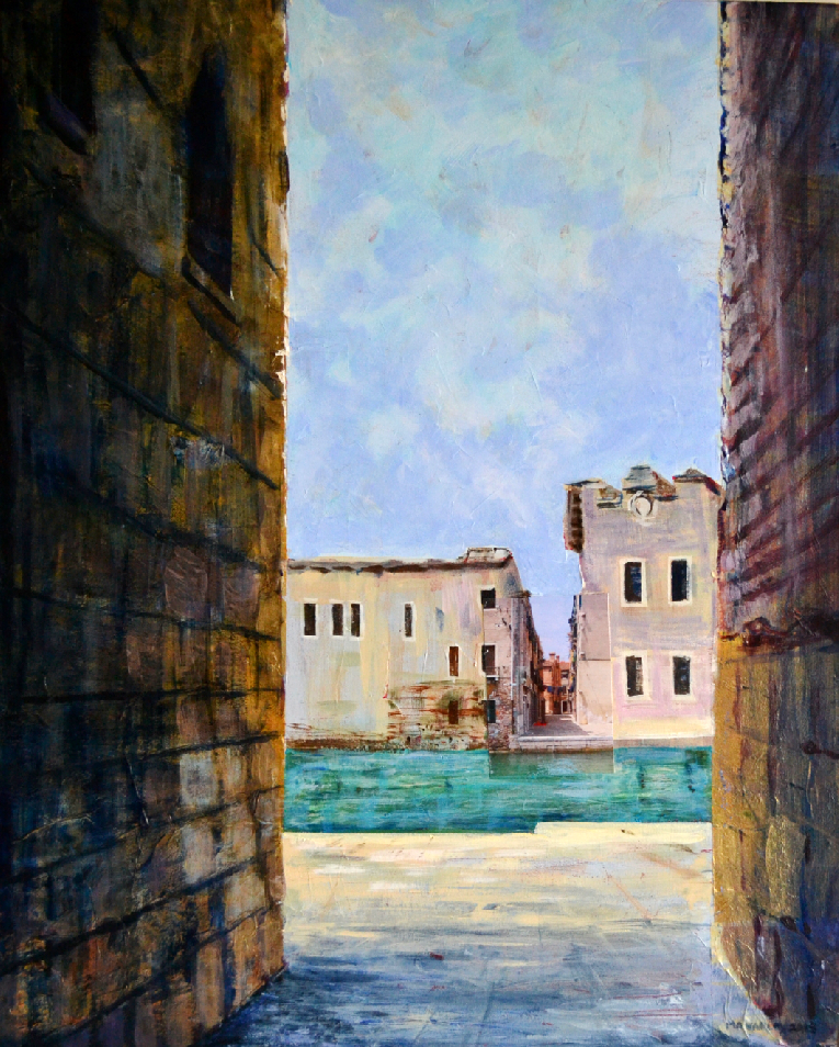 MV -Arsenale Canal, Venice