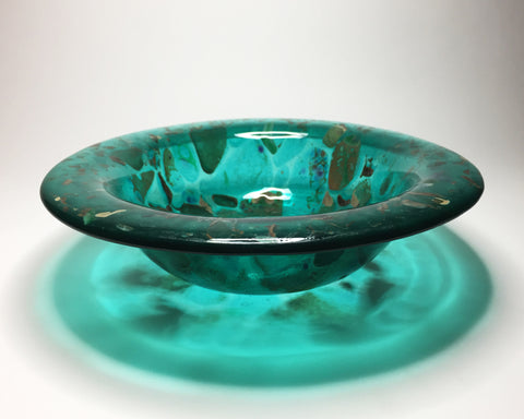 JK - Aqua Pebbles bowl