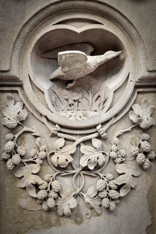 Mary Pratte - Carvings V, Bethesda Terrace, Central Park