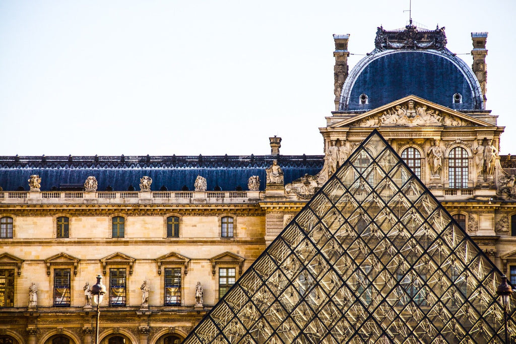Mary Pratte - Old and New, The Louvre