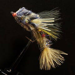 Walter's Weakness Baitfish - Black & Tan